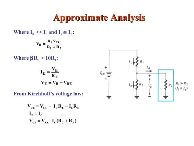analysis of mosfet and bjt The most popular circuit solutions and their performance are analyzed, including  the  complex problems starting with an overview of mosfet technology and.