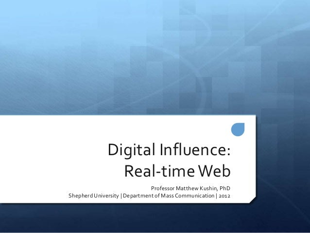 What is digital influence?