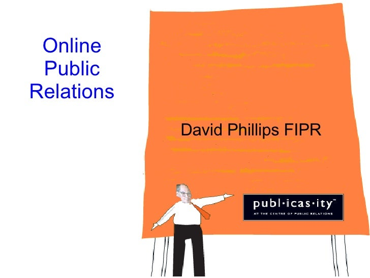 Online Public Relations David Phillips FIPR