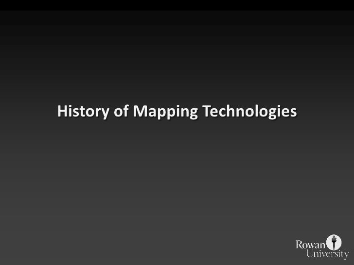 IMGIS - Brief History of Mapping