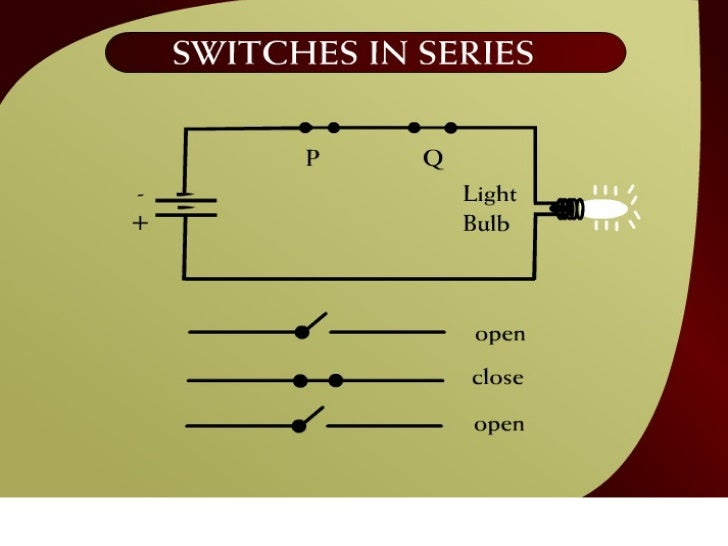 Switches in Series – (6 - 1)