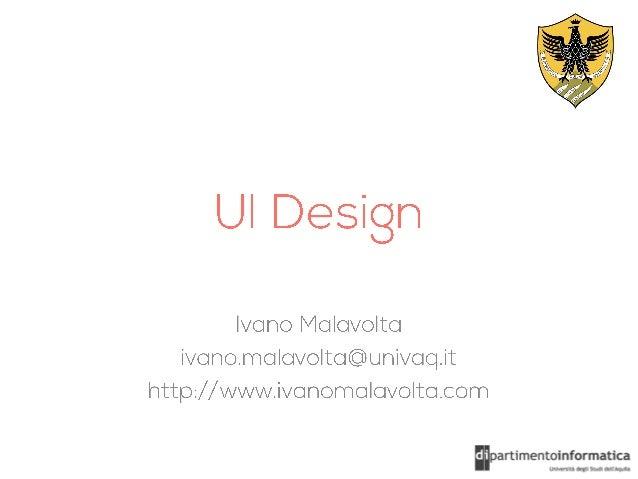UI Design Patterns for Mobile Apps