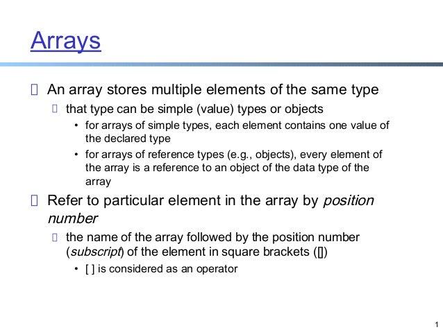 Visula C# Programming Lecture 5