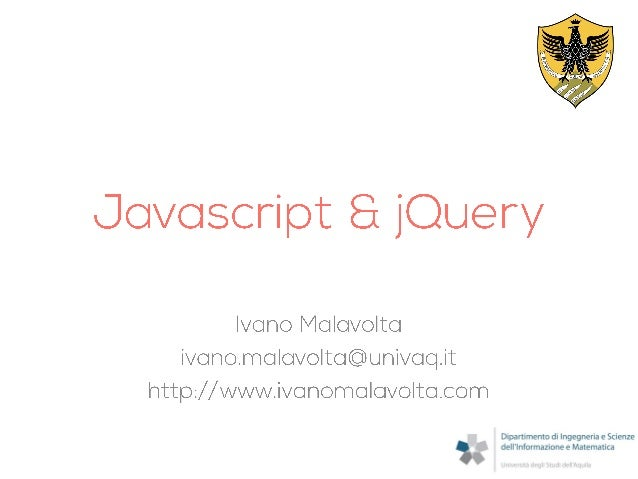Javascript and jQuery for Mobile