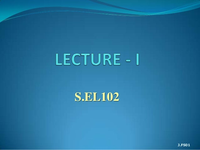 S.EL102          J.FS01