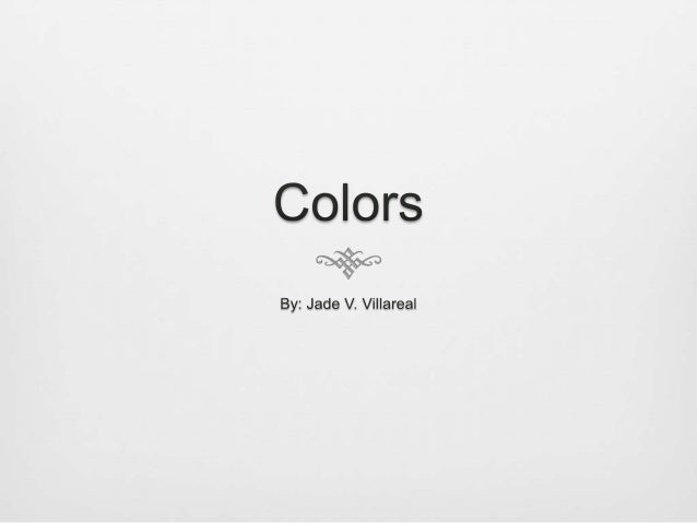 To understand color… we first need to understand light