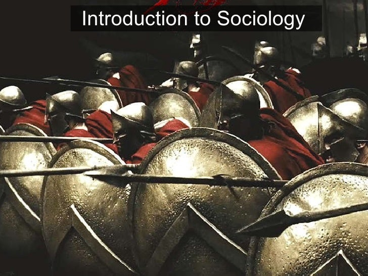 Sociology - Intro