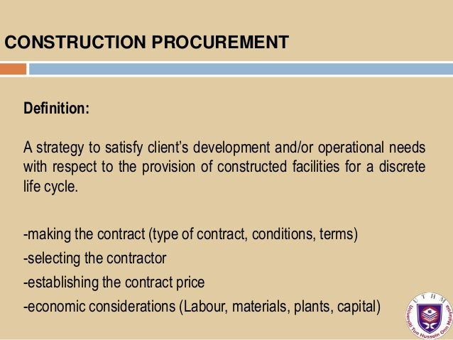 procurement method used in nigerian construction The analyses do not suggest that any significant correlations exist between the method used for the procurement nigeria introduction construction.