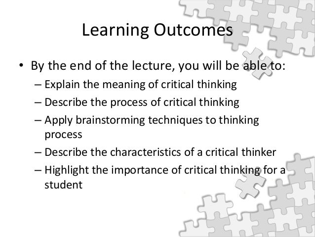 Top 25 Critical Thinking Skills
