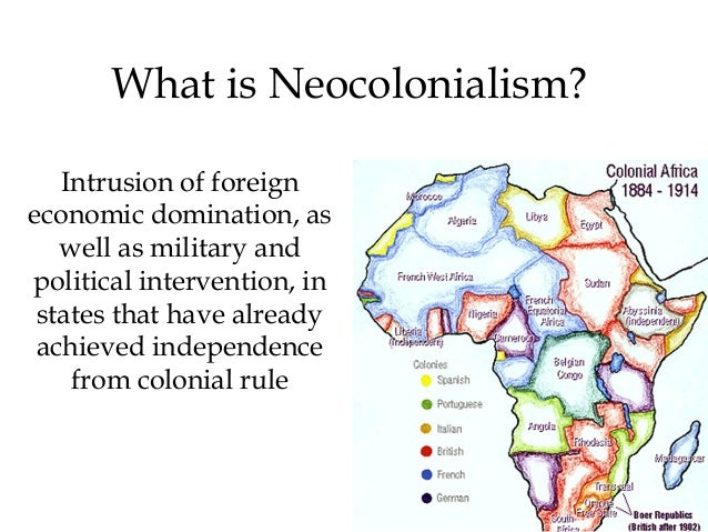 essays on neo colonialism