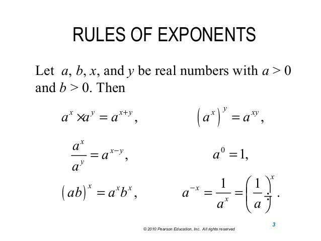 Related Keywords Suggestions Exponential Rules