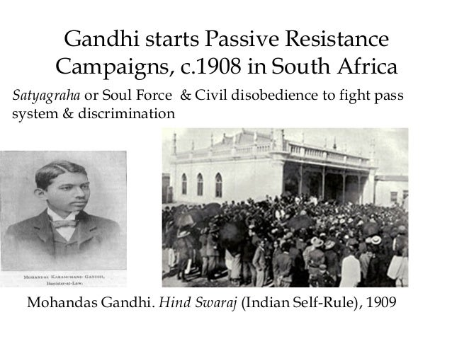 """Why did Gandhi reject the term """"passive resistance"""" in favor of """"satyagraha""""?"""