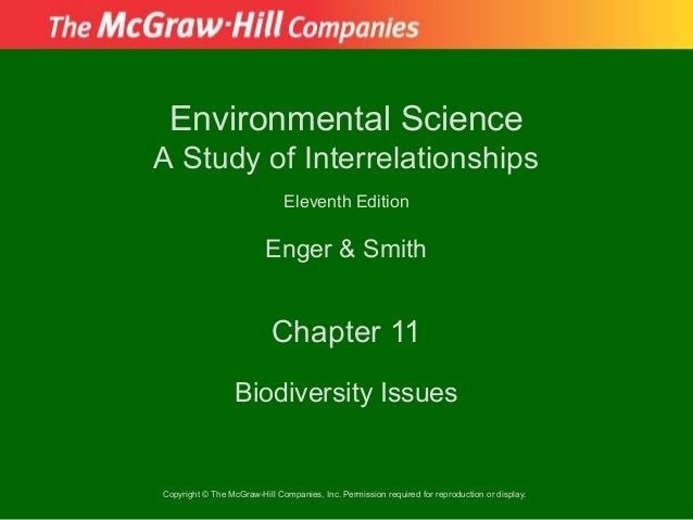 Environmental ScienceA Study of Interrelationships                              Eleventh Edition                         E...