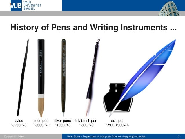 Pen based interaction lecture 11 next generation user interfaces