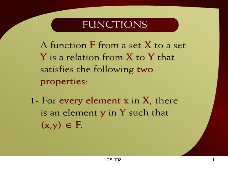 Functions – (15 - 2)