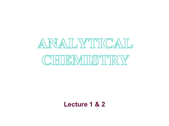 Lecture 1&2