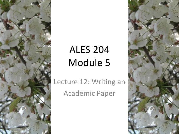 Lecture 12   Introduction to Academic Essays