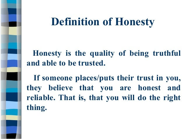 a definition and examples of integrity as a personal quality Blog 16 ways to demonstrate integrity posted by tom smith on thu, sep, 12, 2013 @ 06:09 am.