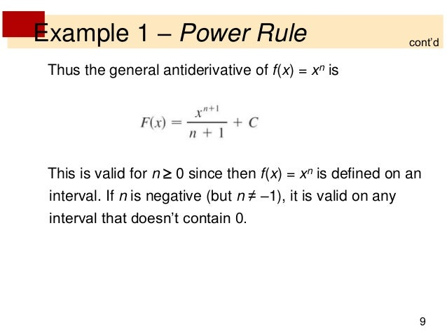 how to find general antiderivative