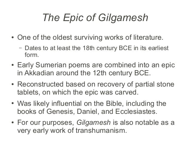 epic of gilgamesh and the bibl essay Study of the epic of gilgamesh in both the bible and gilgamesh disobedience if you are the original writer of this essay and no longer wish to have.
