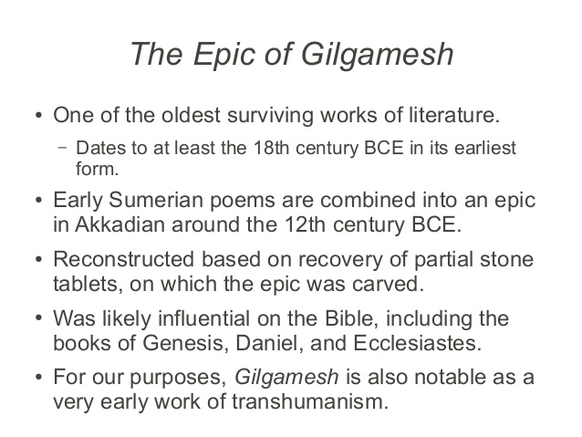 epic of gilgamesh analysis essay