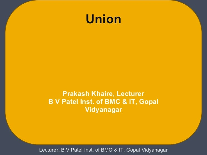 Lecture19 unionsin c.ppt
