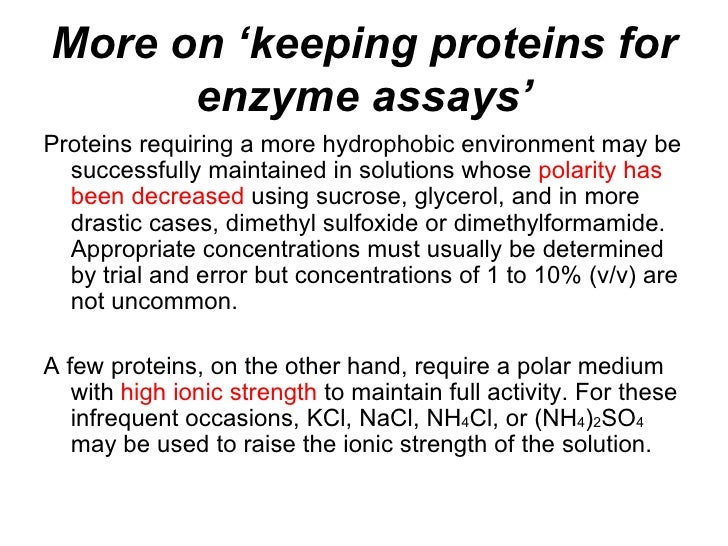 enzyme assays a practical approach practical approach series