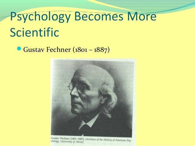 fechners elements of psychophysics Access to the full content is only available to members of institutions that have purchased access if you belong to such an institution, please log in or find out.