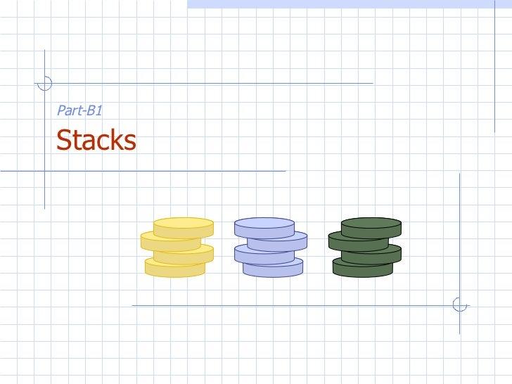Part-B1   Stacks