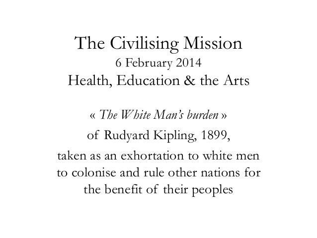 6th February: The Civilizing Mission, Dr. Henri Locard