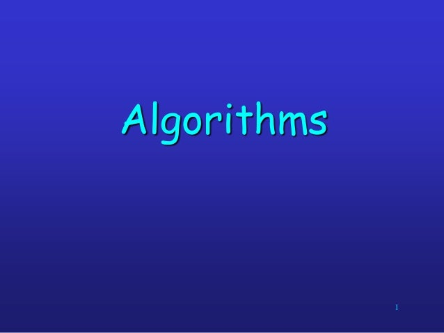 Lecture 2 data structures and algorithms