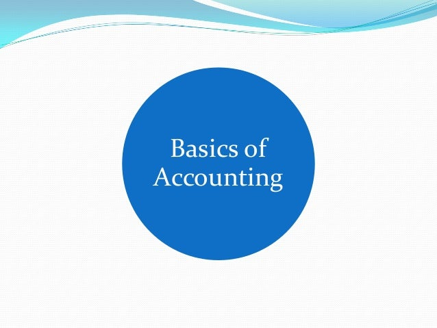 Lecture 2 financial accounting