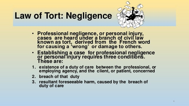 essay on negligence law