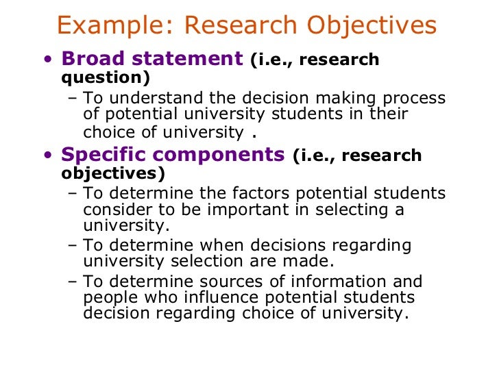 problem identification in marketing research Defining a research problem is one of the first steps of the scientific process.