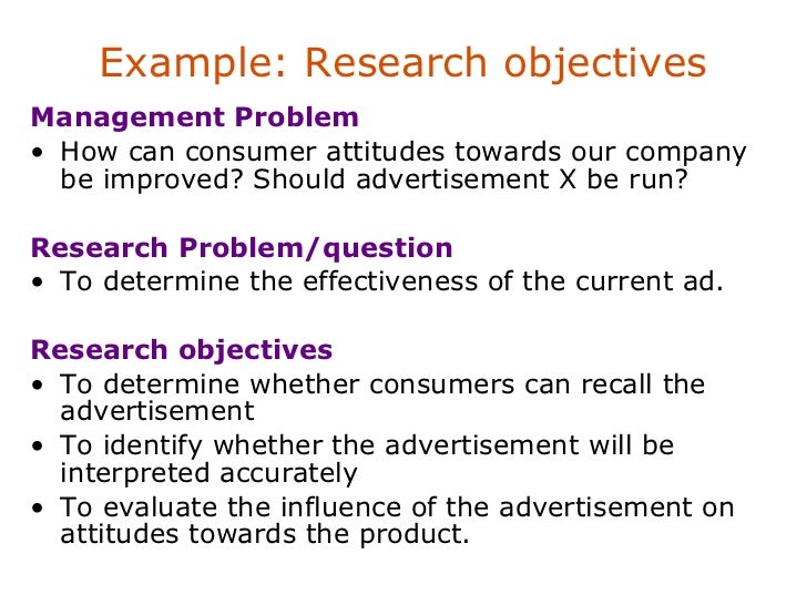 Problem Statement Example Thesis