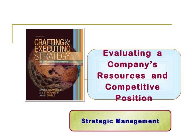 Strategic Management Lecture 3