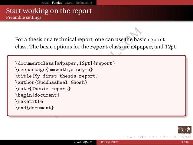 essay vs technical report