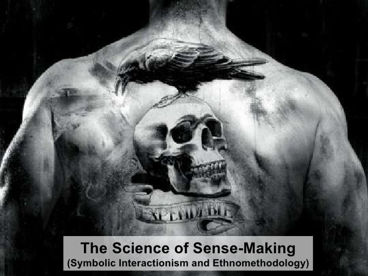 The Science of Sense-Making (Symbolic Interactionism and Ethnomethodology)