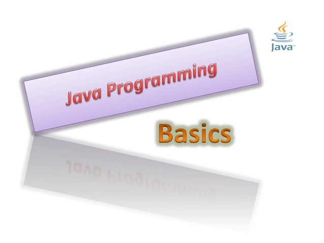 java programming basics - part ii