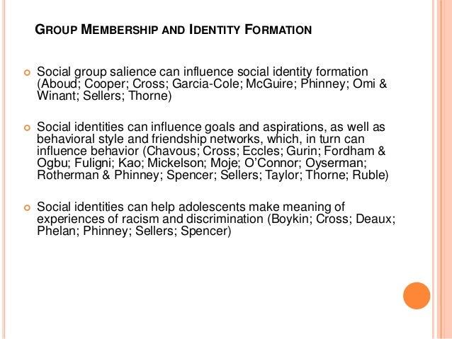 Essay identity formation