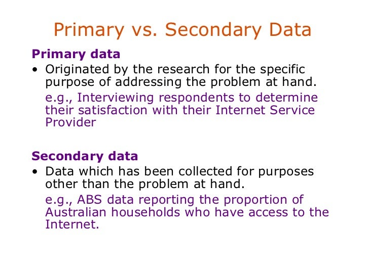 the importance of market research through the use of primary and secondary data Figure 182 sources of primary and secondary research data the internet and secondary research market  primary research sifting through secondary.
