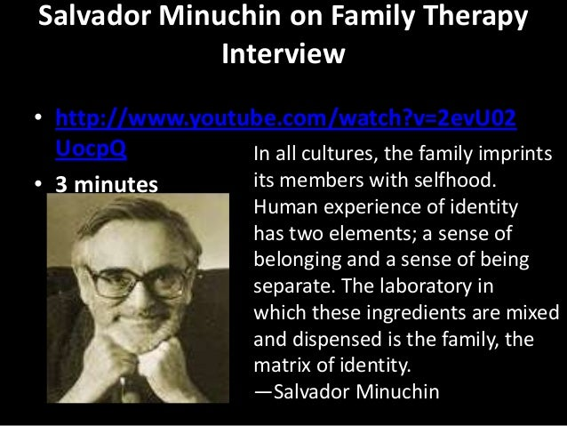 case example of family system therapy An example of client-centered therapy  a close associate or family member (american psychiatric association,  the case example presented here comes from an .