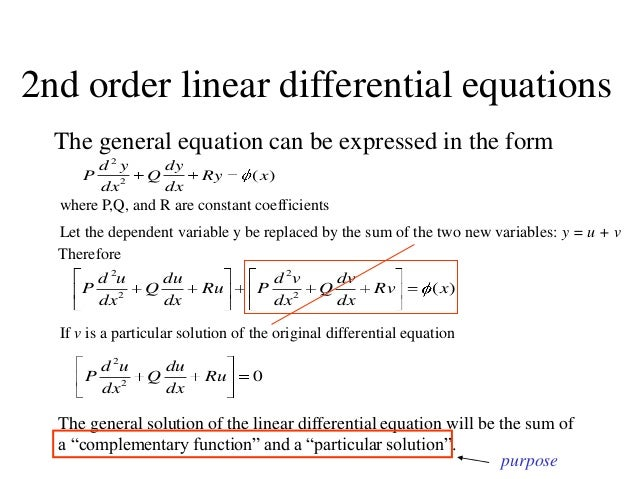 how to tell the order of a differential equation