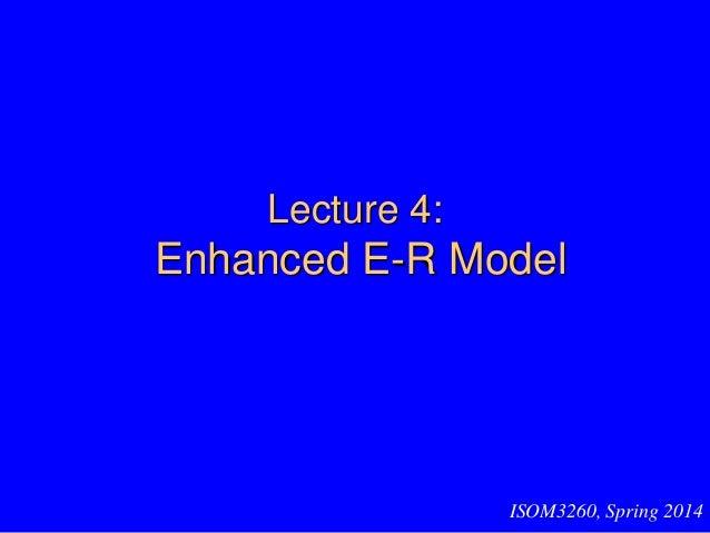 Enhanced ER(database)