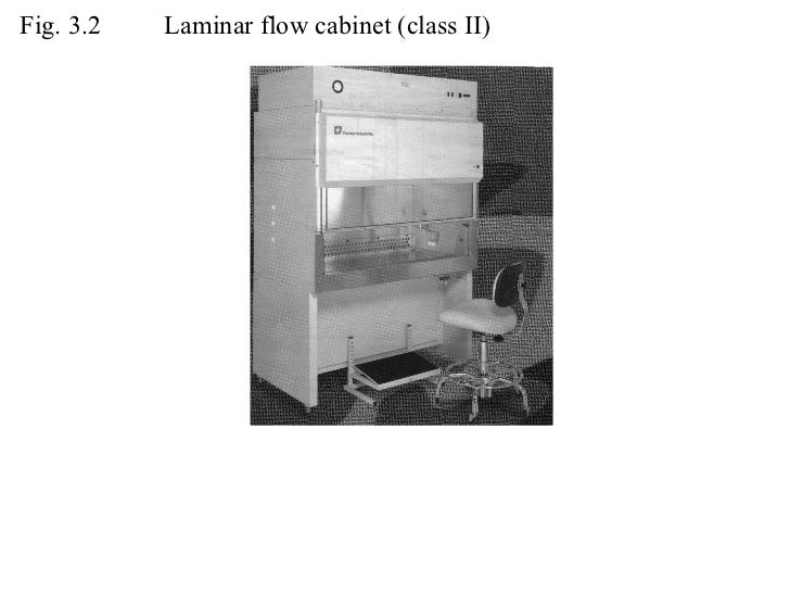 Fig. 3.2 Laminar flow cabinet (class II)