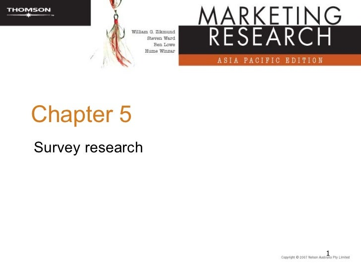 Chapter 5Survey research                  1