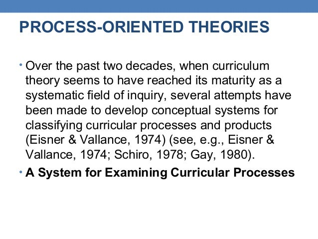 curriculum theorists and their influence on education Study cur712 curriculum theory from university describe major curriculum theories and their historical and economic forces influence the field of curriculum.