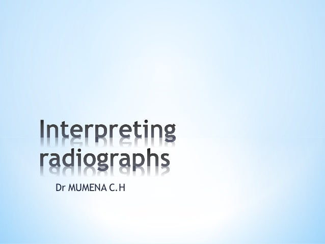 Lecture 5 a_radiographic_presentation_2012