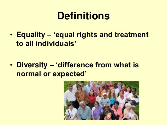 equality and diversity 5 essay