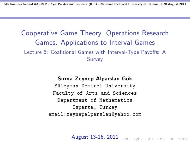 Coalitional Games with Interval-Type Payoffs: A Survey